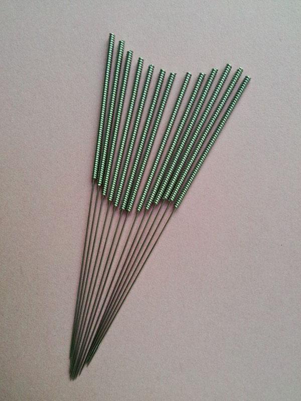 钢丝平柄针裸针1